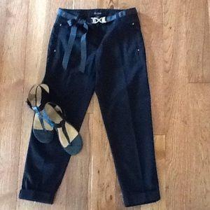White House Black Market Pants - Black Crop Pants NWT TAKE 50% OFF