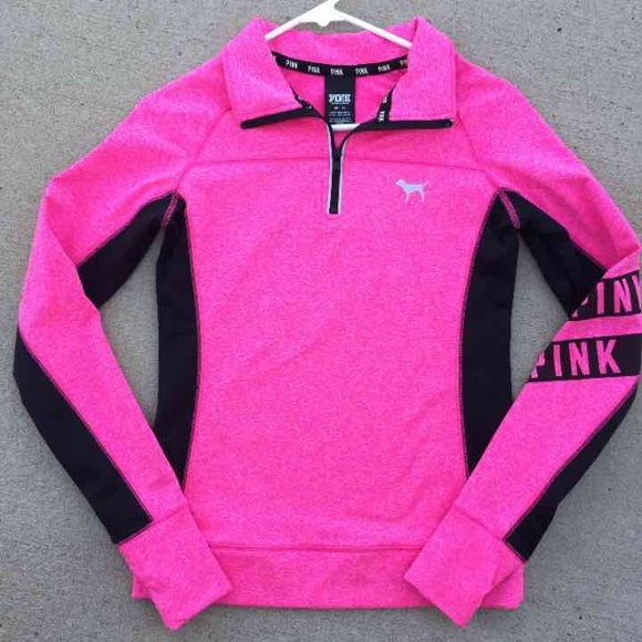 PINK Victoria's Secret - PINK half zip xs Victoria's Secret dog ...