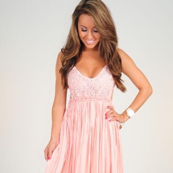 shophopes dresses pink baby shower maxi dress