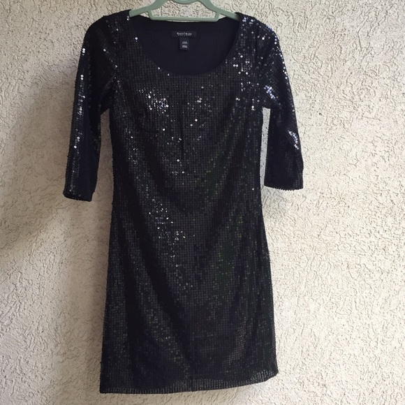 White House Black Market Dresses & Skirts - White House Black Market black sequin dress