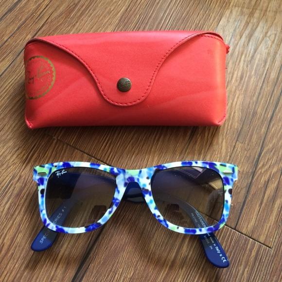 Limited edition Rayban wayfarer sunglasses