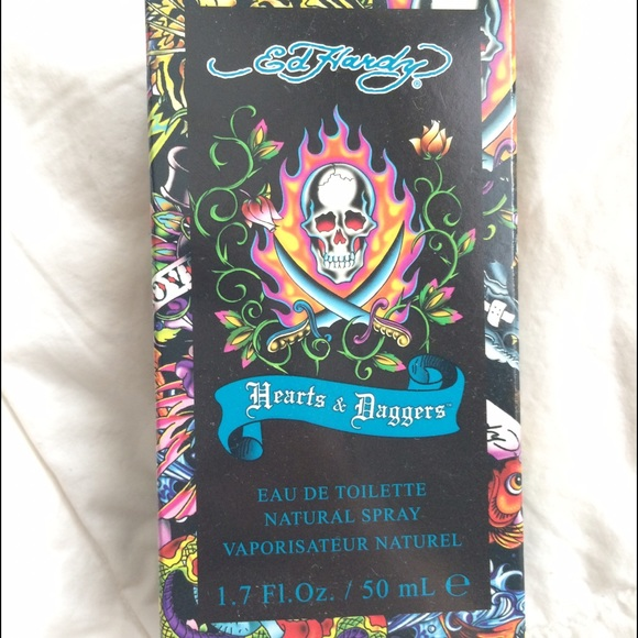Ed Hardy Hearts Daggers Perfume 1 7oz Edp Spray Women New 94922190000: Ed Hardy Hearts And Daggers Body Spray From Candace's Closet On Poshmark
