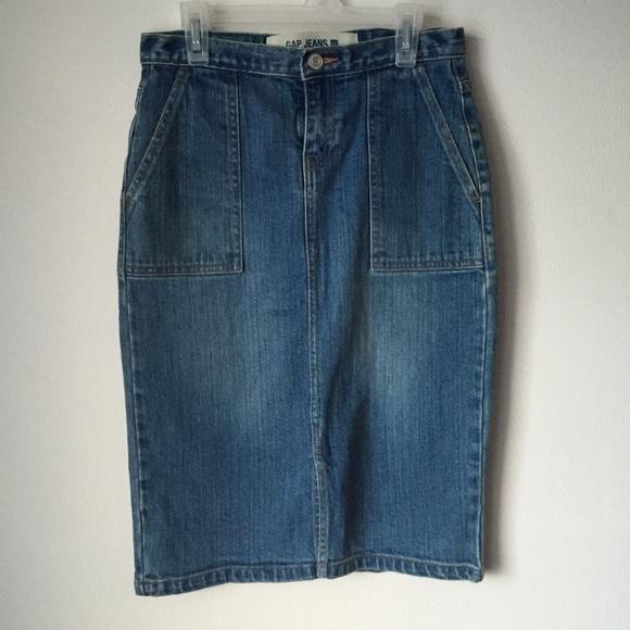 gap price gap denim skirt from cierra s closet
