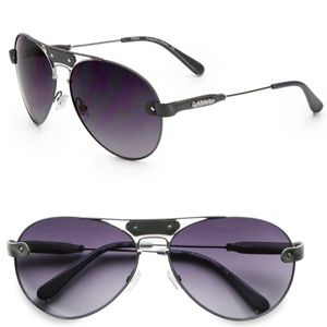 Authentic Chloe Grey Aviator Sunglasses