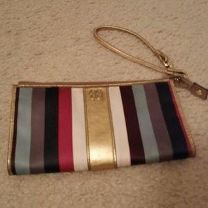 Authentic  Coach Legacy zip clutch
