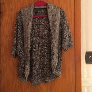 Express gray pullover sweater