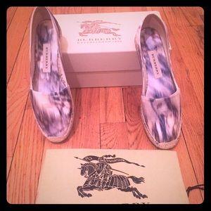 Burberry prorsum espadrilles new in box