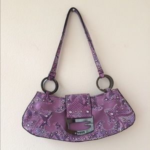 Guess Purple handbag