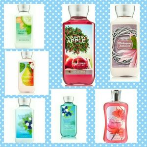 Bath and Body Works Lot of 7 full size!