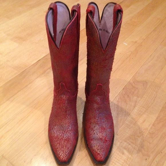 36d5255aa02 🎉NEW🎉 Lucchese Classic Women's Red Boots 👢 NWT
