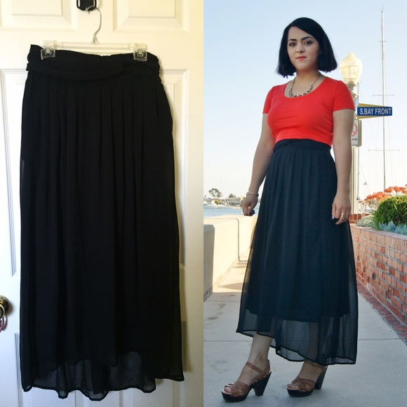 72 h m dresses skirts h m maxi skirt from s