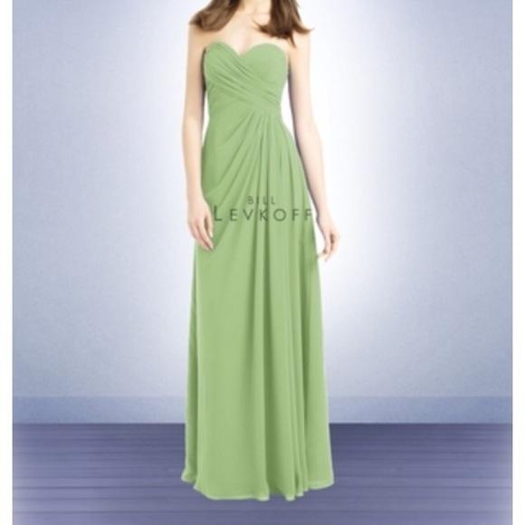 7495c206854 Bill Levkoff Dresses   Skirts - Bill levkoff 732 pistachio bridesmaid dress!