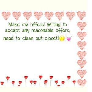 Make Offers !!!
