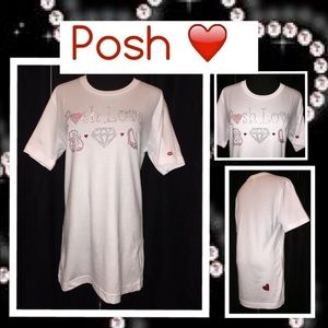 Poshmark Tops - ❣Posh Love Bling❣Sale