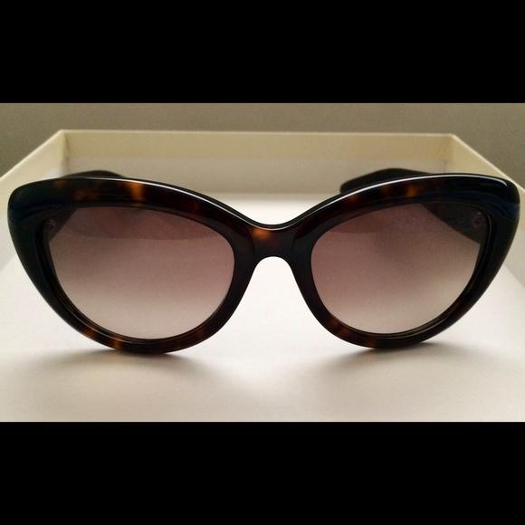 f5df48def101d Saint Laurent Kate Cat Eye Sunglasses