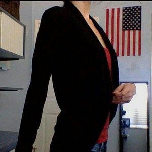 Jackets & Blazers - Black Overcoat
