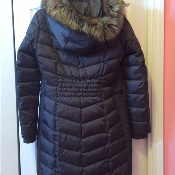 72 off michael michael kors outerwear michael michael kors long gray winter jacket from. Black Bedroom Furniture Sets. Home Design Ideas