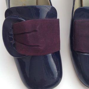 Nanette Imperials antique 1940-1950s navy shoe 6.5