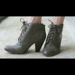 Zara Shoes - Lace-up Booties