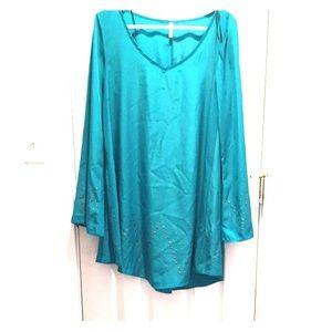 Sage brand teal dress!