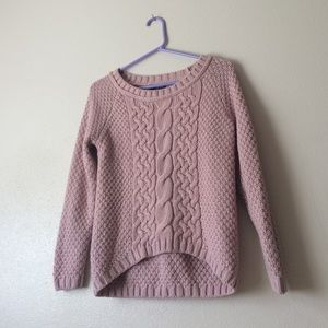 Sweaters - Nude pink knit sweater