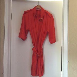 Orange Dress Perfect for Summer