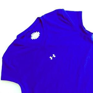 Under Armour Tops - Blue Under Armour Top Size Medium