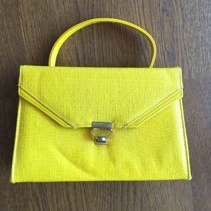 3X Host Pick Vintage yellow purse