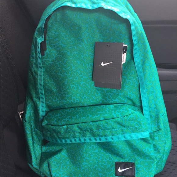 teal nike backpack