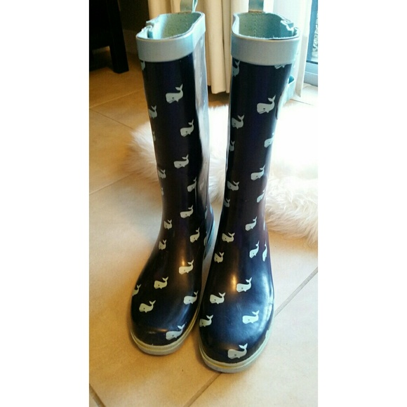 50% off Boots - Whale Rain Boots from Roxy's closet on Poshmark