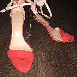 Zara Open-Toe Heels (size 8.5)