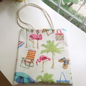 Handbags - New Flamingo beach tote