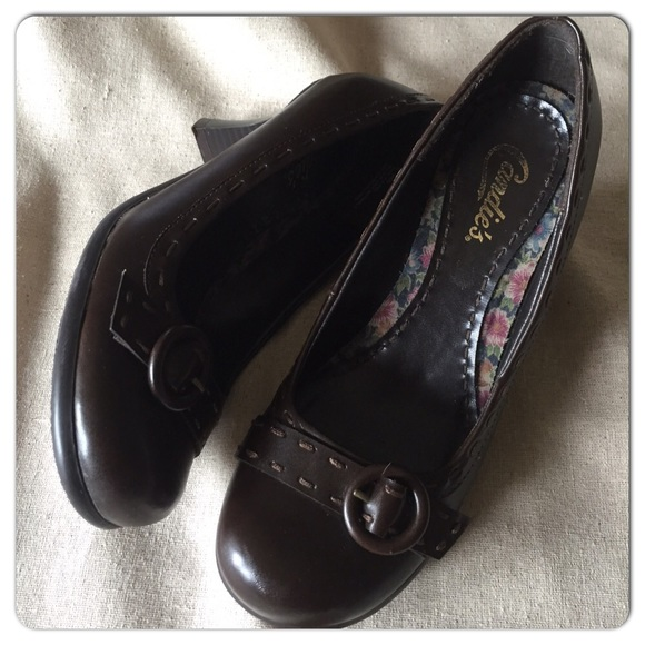 47 candie s shoes candies chocolate brown high