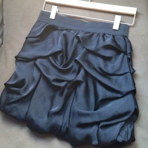 Skirts - Black Bubble Skirt