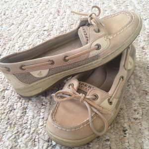 tan, sperry top-sider angelfish boat shoe