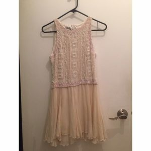Vintage Italian dress with pearls