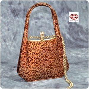 🌟HP⭐️ GOLD LEOPARD BAG