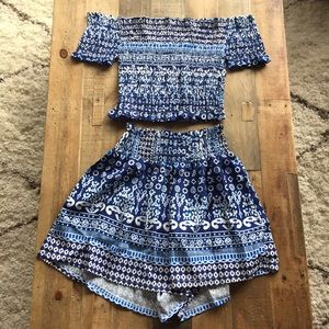 Tribal Print Short Set *NEW*