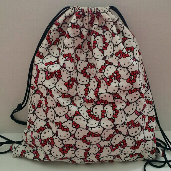 31b8899b8 Hello Kitty Bags | Drawstring Bag | Poshmark