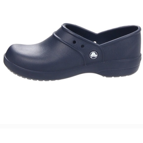 60 crocs shoes navy non slip crocs comfy in