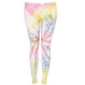 New Topshop Tie Dye Leggings