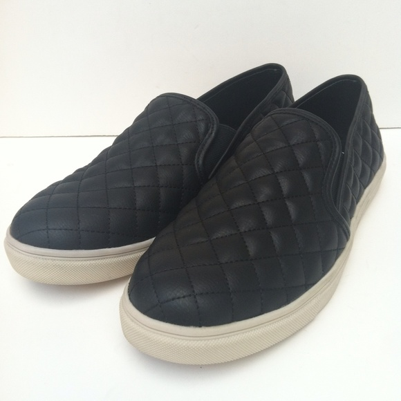 74 steve madden shoes madden ecentrq black quilted