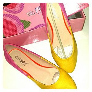Pinky Shoes - NIB Flats