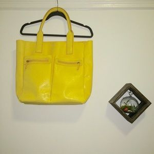 EXCLUSIVE Large Yellow Tote (Neiman Marcus)