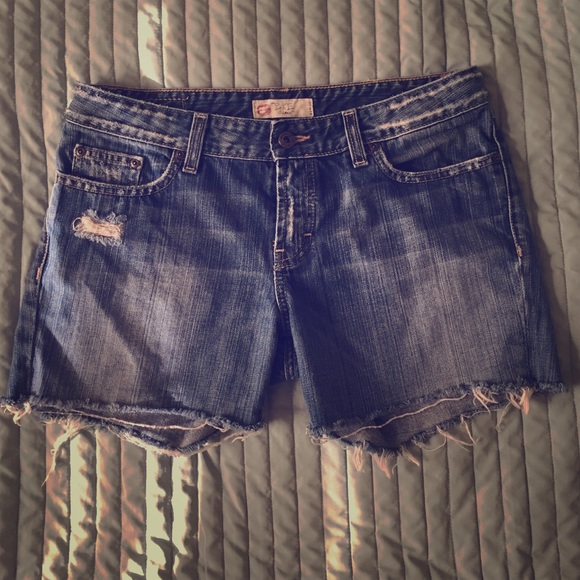 c3de64a1e2 BKE Shorts | Distressed Mid Length Cutoff | Poshmark