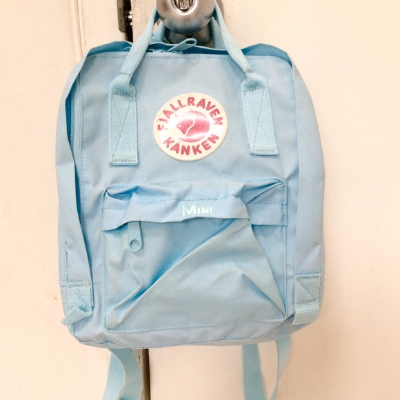 909ab990d4271 Fjallraven Kanken Handbags - Fjallraven Kanken Mini Backpack in Skyblue