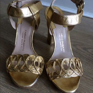 Carlo pazolini  Shoes - Gold heels