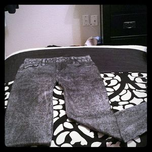 Pants - Jean printed leggings