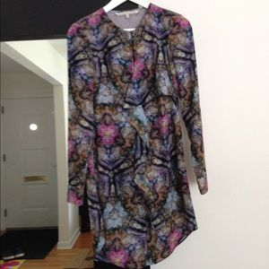 Long sleeves vintage like dress