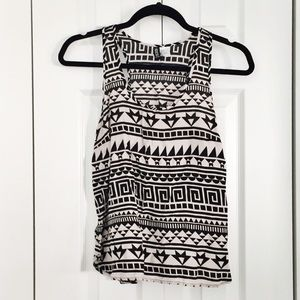H&M Tops - H&M Tribal Tank Top